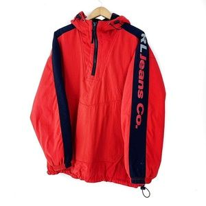 Ralph Lauren Jackets & Coats - Ralph Lauren Jeans Red Windbreaker Jacket Large